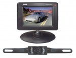 "Pyle Car Audio PLCM34WIR 3.5"" Wireless Back-up Rearview Monitor and Night Vision Camera System"