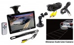 "Pyle PLCM7500 Window Suction Mount 7"" Video Monitor w/ Rearview Backup Camera"