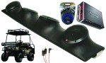 "Bad Boy Buggy Rockford R152 & PBR300X4 Amp Quad (4) 5 1/4"" Speakers UTV Pod Package"