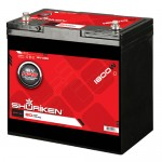 Shuriken SK-BT16V Medium Size AGM Battery with 1800 Watts and 80 AMP Hours