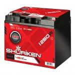Shuriken SK-BT45 1250W / 45 AMP Hours Compact Size AGM Rechargeable Battery