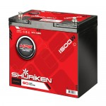 Shuriken SK-BT60 Compact Size Absorbed Glass Mat Battery 1500W / 60 AMP Hour