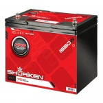 Shuriken SK-BT70 Full Size AGM Tech Battery with 1650 Watts and 70 AMP Hours