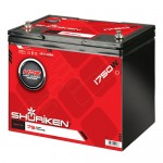Shuriken SK-BT75 Hi-Performance Large Size AGM Battery 1750W / 70 AMP Hours