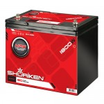 Shuriken SK-BT80 1800 Watts and 80 AMP Hours Large Size AGM Tech Battery
