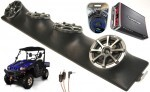 "Bennche Bighorn Powered Kicker KS525 / Rockford Amp Quad (4) 5 1/4"" Speaker UTV Pod Package"