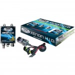 Pyle Car Stereo PSB9005K10K Slim Ballast Single Beam HID Xenon Driving Light Systems (Blue/Purple)