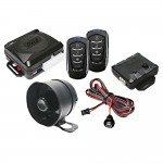 Pyle PWD701 Four-Button Car Remote Door Lock Vehicle Security System with Built-in Relay