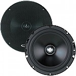 "Boss SE60CK 6-1/2"" 2-Way Component Speaker system Black Poly Injection Cone 4-Ohm"