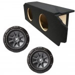 "Scion TC Coupe 05-10 Dual 12"" Kicker CVR12 1600 Watt Subwoofer Enclosure Loaded Sub Box"