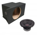 "Power Acoustik CW2-104 Single 10"" Ford Mustang 05-13 Coupe Crypt Loaded Sub Box Enclosure"