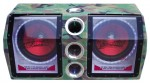 Legacy Car Stereo LBP21 Dual 10'' 1000 Watt Bandpass Subwoofer System w/ LED Light Accents