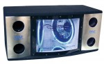 Pyle Car Stereo PLBN102 Dual 10'' 2 Way 1000 Watt Bandpass w/ Blue Woofer Rings