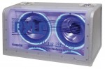 Pyle Car Stereo PLBWS210 Dual 10'' 1000 Watt Bandpass w/ Neon Woofer Rings Enclosure System
