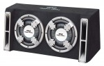 Pyle Car Stereo PL212DS Dual 12'' Slim Designed Subwoofer Bass Box Enclosure System