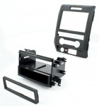 Best Kits BKFMK526 2009 Ford F-150  Single or Double DIN ISO Install Kit with Pocket