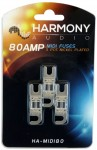 Harmony Audio HA-MIDI80 Stereo Fuseholder 3 Pack 80 Amp MIDI Fuses - Nickel Plated