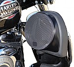 "Harley Davidson Motorcycle Custom 6 1/2"" Lower Fairing Speaker Pods Waves & Wheels LFP"