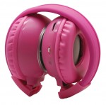 Power Acoustik Car Audio HP-K2P Pink 2 Channel Infrared Wireless Kids Headphone