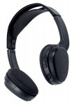 Power Acoustik WLHP-200 Single Channel UHF Wireless IR On- Ear Headphone