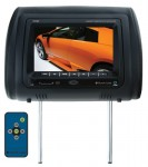 "Planet Audio PH7AC Universal Headrest Widescreen 7"" TFT Video Monitor with Built-in DVD Player"