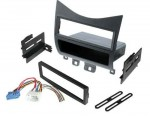 Best Kits BKHONK823H Honda Accord 2003-Up with Harness Radio Relocation To Factory Pocket