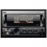 Boss 802UA Double-DIN In-Dash Front USB/AUX Input Digital Media Receiver with Remote Control