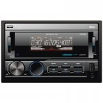 Boss 812UAB Double-DIN Bluetooth Hands-Free Digital Media Receiver with Front USB/AUX Inputs and Remote Control
