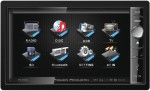 "Power Acoustik PD-650 Motorized 6.5"" LCD Touch Screen Double DIN Multimedia Source Unit"