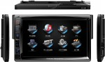 "Power Acoustik PD-712T Single DIN Multimedia Source Unit 7"" LCD Motorized Detachable with Analog TV Tuner"