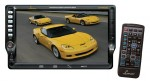 Lanzar SD76MUBT 7 Inch Touchscreen DVD Receiver with Built-in Bluetooth System and Dolby Digital Coaxial Outputs