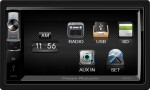 "Power Acoustik PDR-654 6.5"" LCD Touch Screen Double DIN Digital Media In-Dash Receiver"