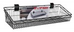 Install Bay Garage IB36121 36x12 Inch Heavy Duty Misc. Tool Hanging Basket