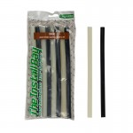 Install Bay IBR31 Four Black and Clear Glue Sticks 8 Pcs Per Package