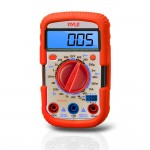 Pyle-Meters PDMT28 Digital Backlit LCD Display Multimeter w/ Auto Polarization