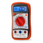 Pyle-Meters PDMT29 High Quality Digital Backlit LCD Display AC/DC Multimeter