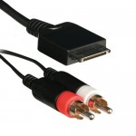Axxess AIP-RCA5V High Performance 5/12 Volt iPod Charger to Audio RCA Cable