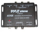 Pyle Car Audio PLMD56 FM Stereo Modulator 7-Channel with RCA Audio Outputs