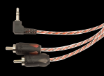 Stinger SI436 4000 Series 6 Ft 3.5mm To Stereo RCA Interconnect