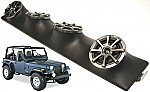 "Jeep Wrangler YJ TJ JK Kicker Package KS525 Custom Quad (4) 5 1/4"" Speaker Sound Bar Pod"