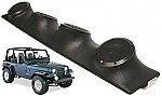 "Jeep Wrangler YJ TJ JK Rockford Package R152 Custom Quad (4) 5 1/4"" Speaker Sound Bar Pod"
