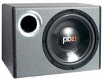 Powerbass PS-WB110 Single 10-Inch Heavy Duty Design Loaded Bass Reflex Enclosure