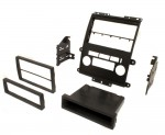 Best Kits BKNDK739 2009-2012 Nissan Frontier Pickup Single or Double DIN Car Stereo Dash Install Kit