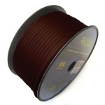 Sound Quest SQVLP18BK 18 AWG 500 Feet Spool High Performance Black Primary Wire