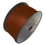 Sound Quest SQVLP18BR 18 GA Copper Clad Aluminum 500 Feet Cut Brown Primary Wire