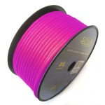 Sound Quest SQVLP18PK 18 AWG 500 Ft Pink Color Car Audio Install Primary Wire