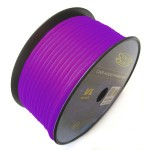 Sound Quest SQVLP18PU 18 GA 500 Feet Copper Clad Aluminum Purple Primary Wire