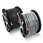 T-SPEC V8GW-475 4 AWG 75 Ft Taiwan Full Virgin Copper Power Wire Solid Black