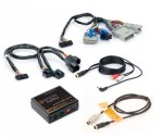 iSimple ISGM11-18 Chevy Silverado Classic 2007 Factory Radio Satellite Kit with Auxiliary Input
