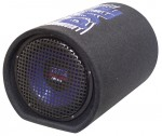 Pyle Car Stereo PLTB8 8'' 400 Watt Carpeted Subwoofer Tube Enclosure System